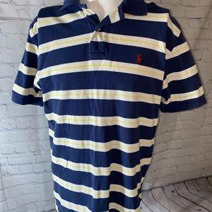 Polo by Ralph Lauren 2 Button Polo Shirt Mens L